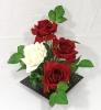 Rosas VB na Caixa Quadrada