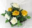 Rosas AB na Caixa Quadrada
