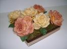 Rosa Chocolate Cachepo
